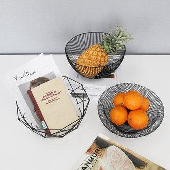 Beliebte Metall Obst Gemüse Lagerung Schalen Küche Ei Körbe Halter Nordic Minimalismus Stil A816