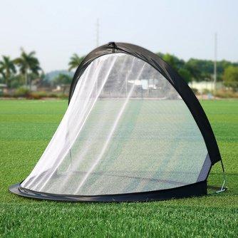 2 stück Fußball Fußball Ziel Net Klapp Schwarz Training Ziel Net Zelt Kinder Indoor Outdoor Spielen Spielzeug
