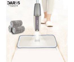 Spray Boden Mopp mit Wiederverwendbare Pads 360 Grad Griff Mopp für Home Küche Laminat Holz Keramik Fliesen Boden Reinigung