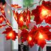 Xsky Drop Schiff Fee Lichterketten 10/20/30 LEDs Ahorn Blätter Licht Batterie Betrieben für Outdoor Home weihnachten Party Dekoration