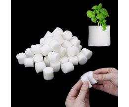 50 teile/satz Soiless Hydrokultur Garten Anlage Werkzeuge Gepflanzt Schwamm Gemüse Anbau System 32x30mm 45x30 mt optional
