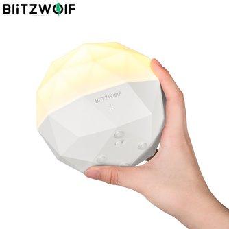BlitzWolf BW-LT19 3000K Diamant Umgebungs Berühren Sensor Nacht Licht TouchControl Stufenlose Dimmen USB Aufladen Intelligente Licht