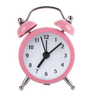 Neue Mini Runde Wecker Desktop Tisch Nacht Uhren Kinder Erwachsene Reise Uhr Decor.