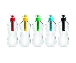550 ML Outdoor Multifunktions PE Carbon Filter Wasser Flasche Trink Gefiltert Trinken Flasche