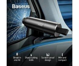 Baseus Auto Sicherheit Hammer Auto Notfall Glas Breaker Fenster Sitz Gürtel Cutter Leben-Saving Flucht Werkzeug