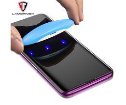 UV Gehärtetem Glas Für Samsung Note 9 8 S9 S8 S7 Rand 5D Vollständige Flüssige Kleber Screen Protector Für Samsung galaxy Note 8 S8 S9 Plus
