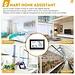Digoo DG-TH8380 Touch Indoor Outdoor Wetter Station + 100m Prognose Sensor Thermometer Hygrometer Meter Kalender 3CH Hintergrundbeleuchtung
