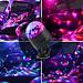 Atotalof USB LED Bar Bühne Beleuchtung RGB Mini Disco Ball Licht Sound Aktiviert DJ Projektor Party Lichter für Auto Home KTV