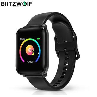 """BlitzWolf BW-HL1 1,3 """"IPS Großen Bildschirm 8 Sport Modus IP68 Multi-sprache Display HR Blutdruck O2 15 tage Standby Smart Uhr"""