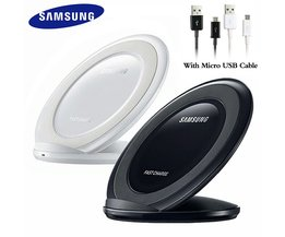Original Samsung Qi Drahtlose Ladegerät Standard Faltbare Pad Ladegerät Für Galaxy S7 Rand S8 S9 S10 Plus S10e Hinweis 8 9 Iphone 8 X XR