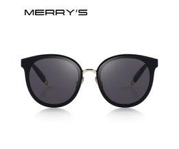 MERRYSFrauen Klassische Mode Cat Eye Sonnenbrille 100% UV Schutz S6311