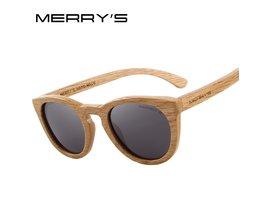 MERRYSHAND AUS Holz Sonnenbrille Männer/Frauen Retro Polarisierte Sonnenbrille 100% UV Schutz S5268