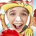 """Kinder spielzeug Bord spiel """"Kuchen in das gesicht"""" (Pie Gesicht) familie Spiel für jungen mädchen kinder lustige Neuheit queer spielen mit freunden"""