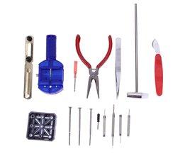 16 stücke Uhr Werkzeuge Reparatur Tool Kit Uhr Werkzeuge Uhren Opener Armband Reparatur Set Band Strap Link-Pin Remover pasadores reloj