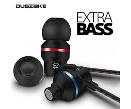 DUSZAKE In-ohr Kopfhörer Für Xiaomi Kopfhörer Für Telefon Stereo Bass Headset Metall Verdrahtete Kopfhörer HiFi Kopfhörer Mic für Samsung