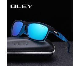 Mode Kerl Sonnenbrille der Von OLEY Polarisierte Sonnenbrille Klassische TR90 frauen goggles 7-in-1 luxus box anpassbare logo YG203