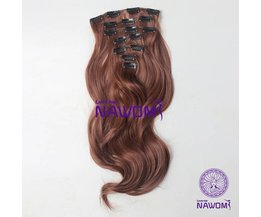 Clip In Extensions Brown (7 Stück)