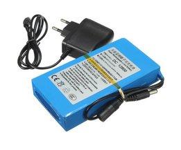 Wiederaufladbare Lithium-Batterie 12V