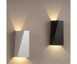 LED-Dekoration-Wand-Lampe Weiß Oder Schwarz