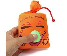 Orange Lachen-Tasche Für Kinder