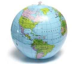 Aufblasbarer Globus 38CM