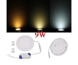 Vertiefte LED-9W Dimmbare