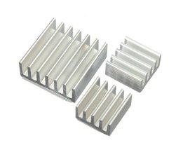 Aluminium-Cooling Kit Für Raspberry Pi (15 Stück)