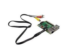 AV-Kabel Für Raspberry Pi B +