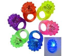 5 Stück Gummiring Mit LED-Beleuchtung