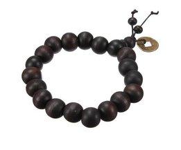Hölzerne Buddhistischen Halskette