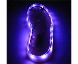 Wiederaufladbare LED-Licht Für Schuhe 1M