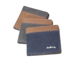 Blau Oder Braun Geldbörse Für Männer