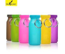TravelSky Silikon-Spielraum-Flaschen In Verschiedenen Farben