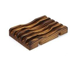 Rustikales Seifenschale Holz