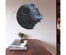 Dekoration Aufkleber Star Wars Todesstern