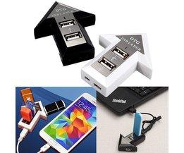 USB-Hub Für Computer-Und Smartphone