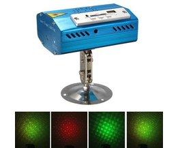 Mini Disco Laser Rot & Grün