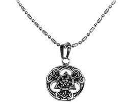 Kette Mit Anhänger Keltisches Kreuz