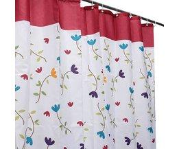 Duschvorhang Mit Blumen