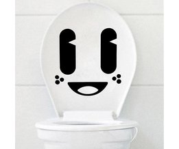 Homosexuell WC-Aufkleber Smiley