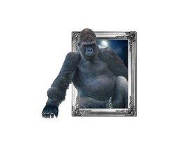Wandaufkleber Mit Gorilla