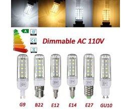 Dimmbare LED-Lampe Mit Verschiedenen Befestigungen