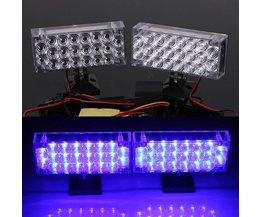 Blaue LED-Blitzlicht Für Autos
