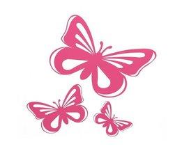 Aufkleber In Form Eines Schmetterlings