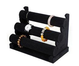 Armband-Halter Mit Drei Schichten