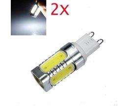 LED-Birnen-G9 Sockel 7 WATT