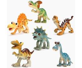 Kunststoff-Dinosaurier Spielset Für Kinder Ab 6 Stück