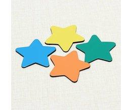 Fünf Gezeigte Stern-Magnet Für Den Kühlschrank