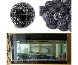 50 Stück Schwarz Aquarium Filter (Biological Balls)