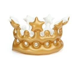 Aufblasbare Golden Crown Für Kinder